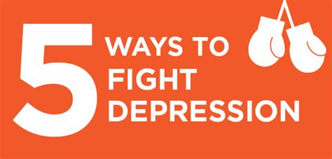 The Most Effective Ways Of Fighting Depression by Five Ways To Fight Depression Without Drugs David