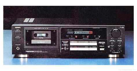 aiwa cassette deck aiwa ad f780 manual three stereo cassette