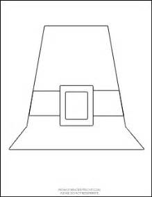 pilgrim hat template printable pilgrim hat craft