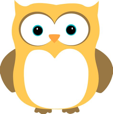 clipart owl yellow and brown owl clip yellow and brown owl image