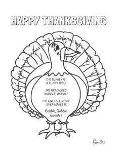 kindergarten thanksgiving poem the turkey is a funny bird preschool thanksgiving poems
