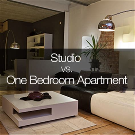 1 bedroom efficiency comparison between a studio and 1 bedroom apartment
