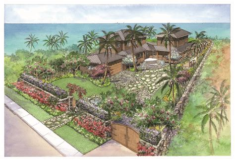 Landscape Architect Hawaii Hawaiian Landscape Design Landscape