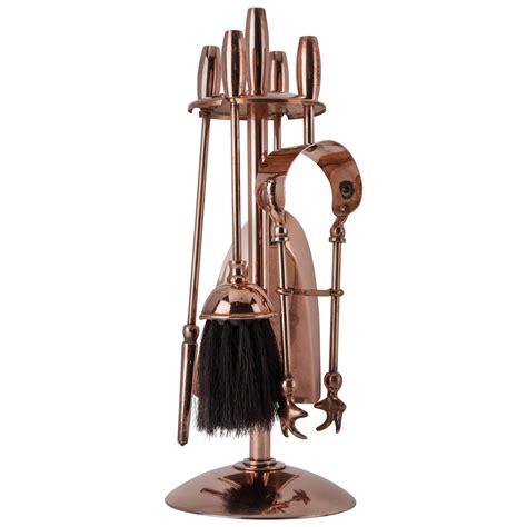 Copper Fireplace Tools by Copper Fireplace Tool Set Circa 1910 For Sale At 1stdibs