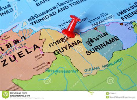 the upward spiral of land prices in guyana kaieteur news guyana map stock photo image 63089253
