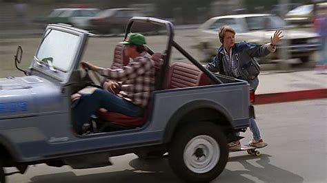 back to the future 710 clip skateboard hitching a lift hamilton takes the easy way
