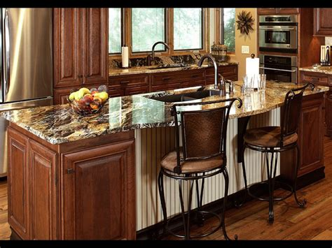 Kitchen Cabinets With Granite Countertops The Cost Of Granite Countertops