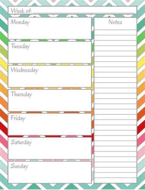 printable calendar home organization home management binder weekly calendar sweet home