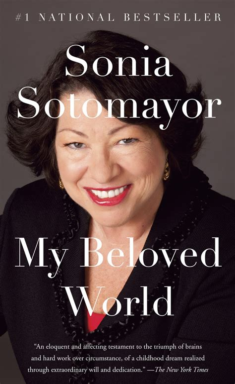 my beloved world 0307594882 sonia sotomayor academy of achievement