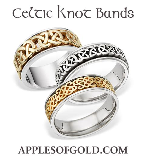 celtic wedding rings designs inspired by the homeland of
