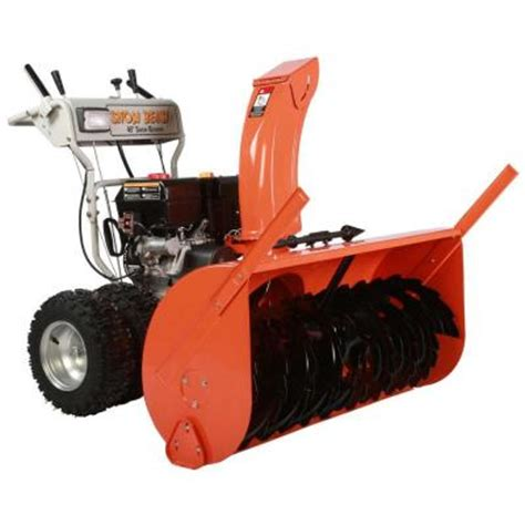 snow beast 45 in commercial 420cc two stage electric