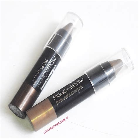 Maybelline Pomade Crayon Review maybelline fashion brow pomade crayons review all shades reviews