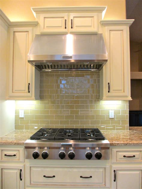 Subway Tile Kitchen Backsplashes Khaki Glass Subway Tile Subway Tile Outlet