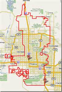 arizona city limits map is it just me or is the whole city of basically