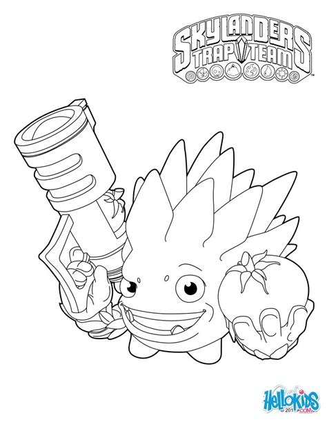 skylanders trap team coloring pages food fight coloring pages hellokids