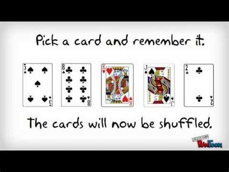 Gamis Mint brain mind attention card trick