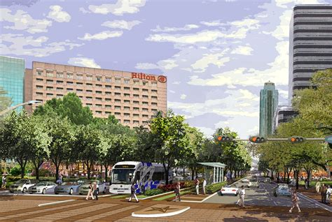 Houston Apartments Uptown Park Current Mobility Projects Uptown Houston News Events