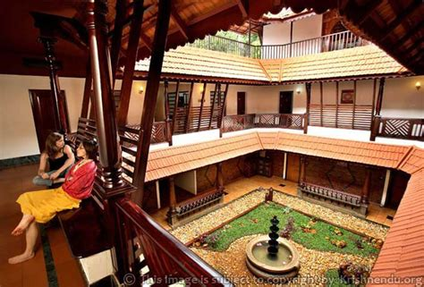 a traditional house of the state of kerala india