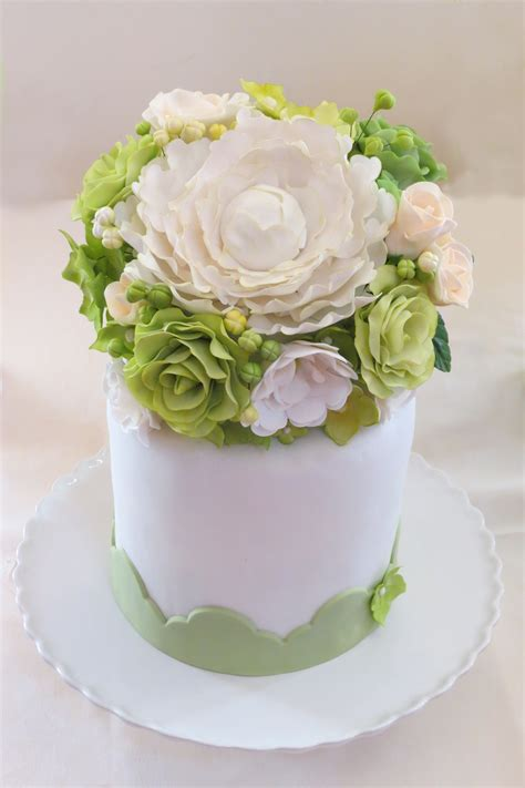 Handmade Flower Bouquets - handmade flowers buttercream bacon