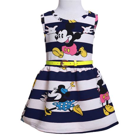 Pineapple Minnie Dress Size 2 7y 2015 princess mouse stripe