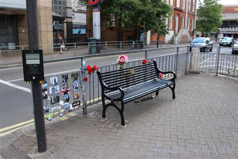 bench locations the rik mayall memorial bench london england