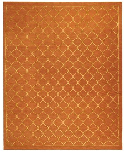 Rust Colored Area Rugs Rust Colored Rug Butterscotch Pinterest