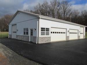 garage pole building  leesport pa sk construction