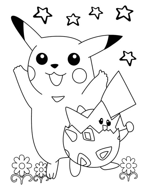 pokemon coloring pages togepi free pokemon coloring pages for kids 2016