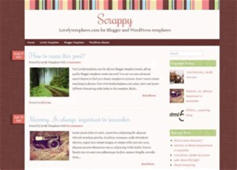 free premium blogger templates collection lovely templates