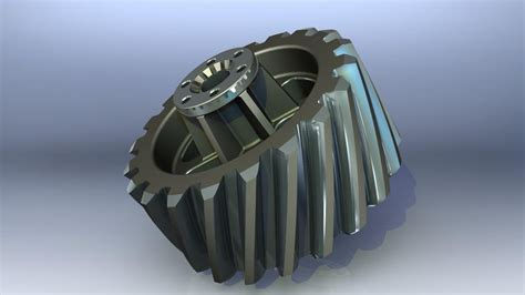solidworks tutorial helical gear helical gear wheel solidworks 3d cad model grabcad