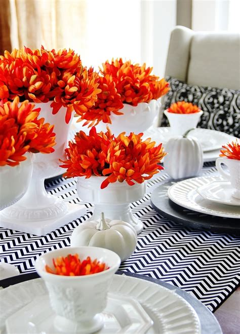 Fall Vase Ideas by Fall Centerpiece Ideas To Make The Bright Ideas