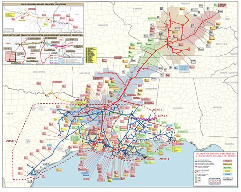 texas pipeline map texas gas tg boardwalk system map