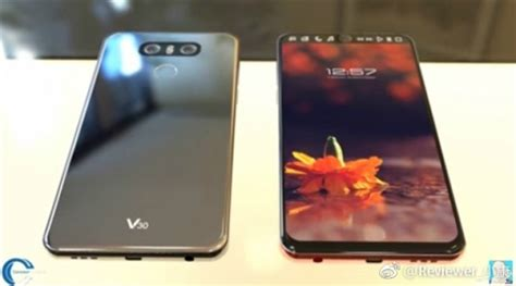 full vision display mobiles list first look at lg v30 shows full vision display new color