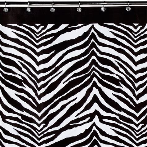 zebra shower curtain creative bath zebra shower curtain walmart com