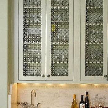 chicken wire cabinet door inserts metal insert kitchen cabinet design ideas