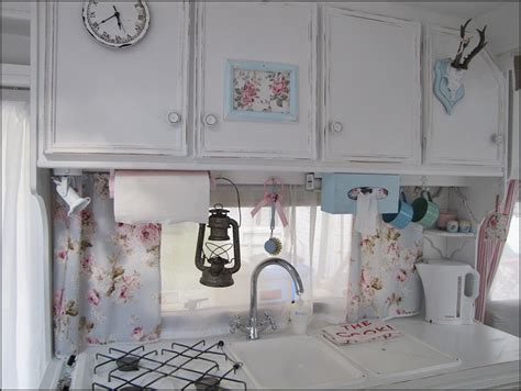 mad about pink shabby chic caravan