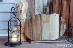 Reclaimed Home Decor Fall Decorating Diy Reclaimed Wood Pumpkins Finding Home Farms