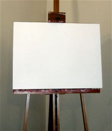 painting blank page how do you approach and conquer or befriend the