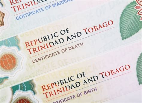 And Tobago Birth Records National Identification Civil Registry Solutions Cbn