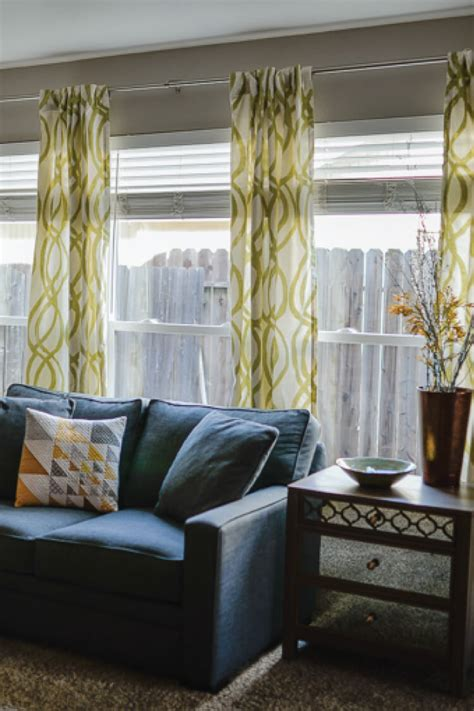 curtain on wall how to hang curtains a quick tutorial