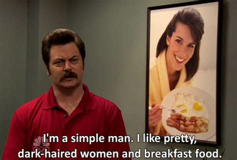 Parks And Rec Meme - ron swanson food quotes quotesgram