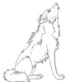 howling wolf coloring pages 1000 ideas about anime wolf drawing on anime