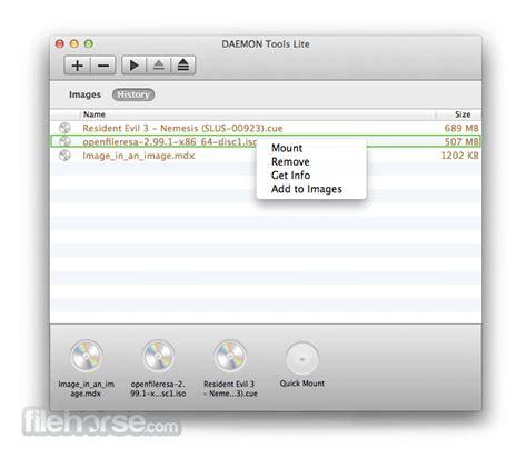 daemon tools 5 1 274 for mac filehorse
