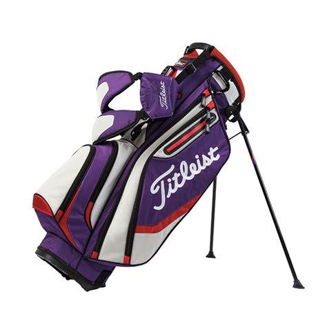 titleist golf bag new titleist golf 2016 lightweight stand carry bag