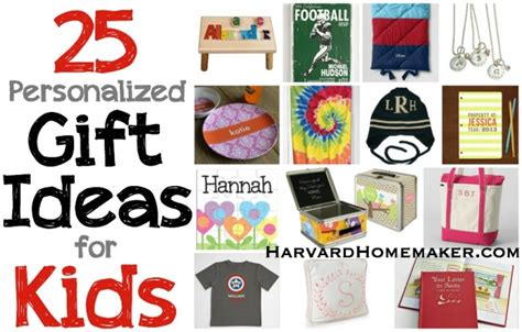 personalized gifts ideas 25 personalized gift ideas for kids harvard homemaker
