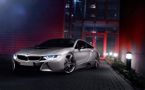 bmw i8 wallpaper hd at night silver bmw i8 concept night simply wallpaper just