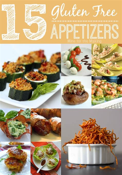 food a licious friday 15 gluten free appetizers mine