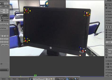tutorial blender tracking 4 points planar tracking in blender