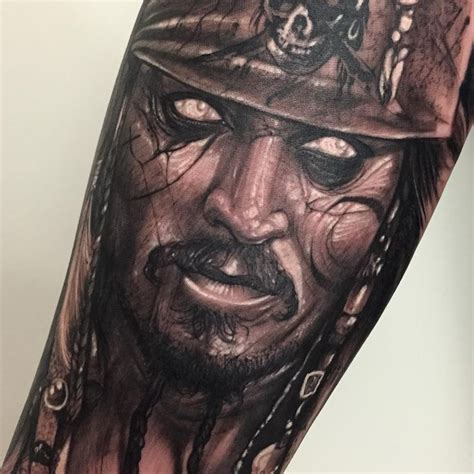 captain jacks tattoo anrijs straume johnny depp captain sparrow quot