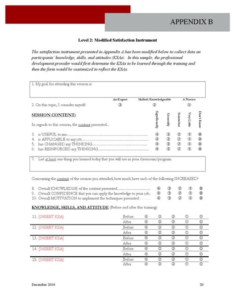professional development evaluation form template professional development evaluation framework for